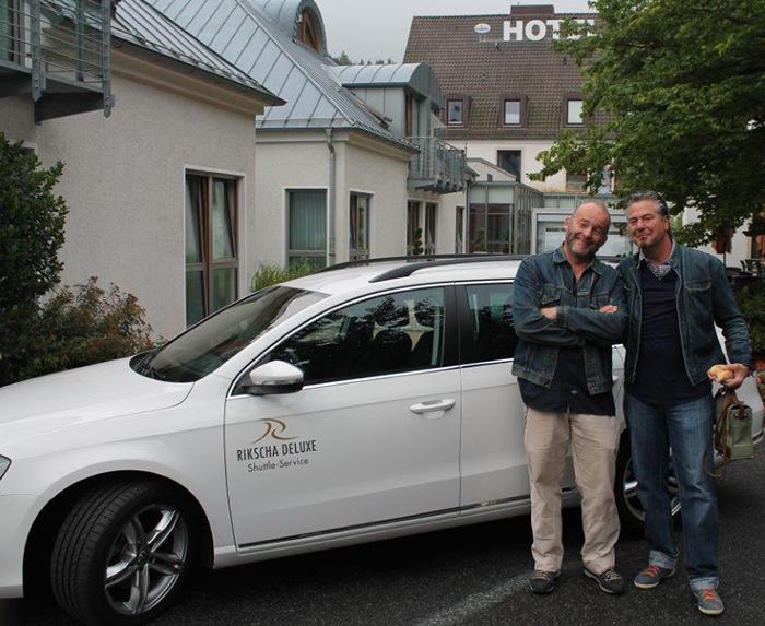 RTL2 Kochprofis | VIP-Shuttle Hannover mit Rikscha Deluxe