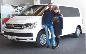 Neues Fahrzeug: VW Multivan Komfortline | Rikscha Deluxe Flughafentransfer